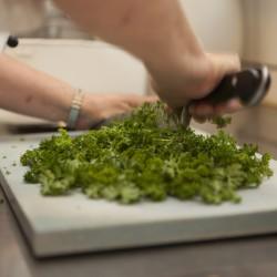 Restaurant Teater Bodega persille hakkes - Foto: Detaljerytterne